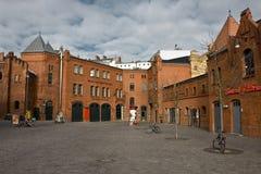 Historic Buildings. Old factory buildings near Prenzlauer Berg in Berlin Royalty Free Stock Images