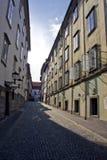Historic buildings. In the old center of ljubljana, slovenia Stock Photo