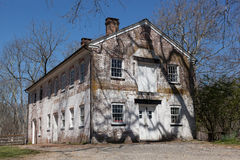 Historic Buildings of Allaire Village Stock Photos