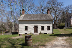 Historic Buildings of Allaire Village Stock Image