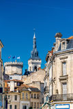 Historic buildings in Angouleme, France Royalty Free Stock Images