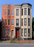 Historic buildings. Architectural preservation of historic buildings stock photography