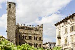 Historic buildings Ascoli Piceno Stock Photo
