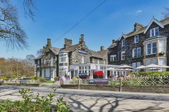 Free Historic Buildings At Ambleside, A Lakeside Town By Windermere Lake Within The Lake District National Park, England, UK Stock Images - 119614974