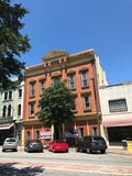 Historic Buildings Available for Rent in Columbia, South Carolina.  royalty free stock image