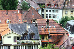 Historic buildings at Bern Royalty Free Stock Photos