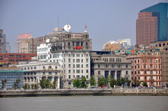 Historic Buildings in the Bund, Shanghai, China Stock Photography