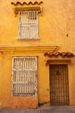 Historic Buildings in Cartagena de Indias Stock Photography