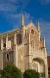 Historic buildings Cathedral, church of Madrid Royalty Free Stock Images