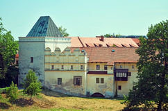 Historic buildings in central Europe Royalty Free Stock Photos