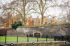 Historic buildings in central London Stock Photo