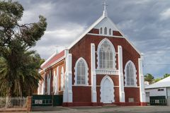 Kalgoorlie, Western Australia. Historic buildings of the city of Kalgoorlie, Western Australia Stock Photos