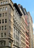 Historic buildings in the city of New York Royalty Free Stock Photos