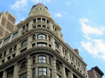 Historic buildings in the city of New York Royalty Free Stock Photo