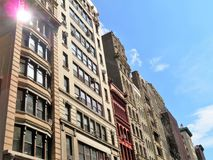 Historic buildings in the city of New York Stock Photos