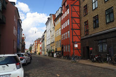 Historic Buildings of Copenhagen Royalty Free Stock Photo