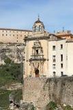 Historic Buildings Cuenca Spain Royalty Free Stock Photos