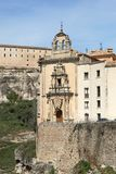 Historic Buildings Cuenca Spain Royalty Free Stock Photos