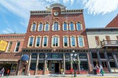 Historic Buildings Deadwood South Dakota Stock Images
