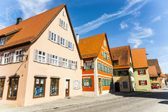 Historic Buildings in Dinkelsbühl, Germany Stock Photography