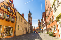 Historic Buildings in Dinkelsbühl, Germany Royalty Free Stock Photography