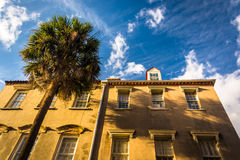 Historic buildings in downtown Charleston, South Carolina. Stock Images