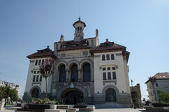 Historic Buildings in downtown Constanta. Museum of National History and Archaeology in downtown Constanta Stock Photography