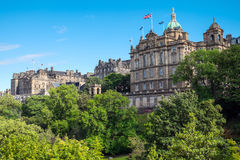 Historic buildings in Edinburgh Royalty Free Stock Photography