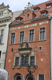 Historic Buildings facade in Prague Czech Republic Stock Photo