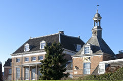 Historic buildings Flipje and local museum Tiel Stock Images