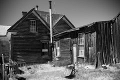 Historic buildings in ghost town Stock Photos