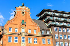 Historic buildings in Hamburg Royalty Free Stock Image