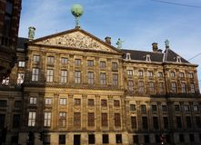 Historic buildings in the city of Amsterdam, Holland, the Netherlands stock images
