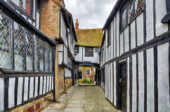 Historic Buildings In Rye, East Sussex, England Royalty Free Stock Images