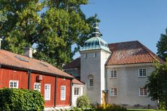 Free Historic Buildings In The Centre Of Vasteras Town Royalty Free Stock Photography - 102794477