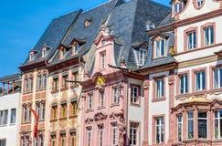 Historic buildings in Mainz Stock Image