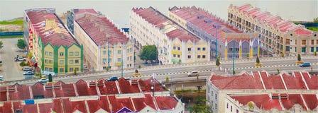 Historic buildings. In Malacca Malaysia Stock Image