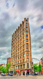Historic buildings in Manhattan, New York City Stock Photos