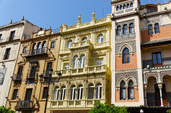 Historic buildings and monuments of Seville, Spain. Spanish architectural styles of Gothic and Mudejar, Baroque Stock Photo