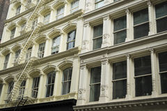 Historic buildings in New York City's Soho District Stock Photo