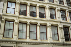 Historic buildings in New York City's Soho District Royalty Free Stock Photo