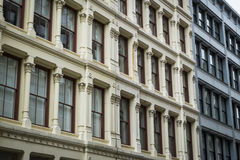 Historic buildings in New York City's Soho District Royalty Free Stock Photos
