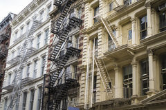 Historic buildings in New York City's Soho District Stock Photography