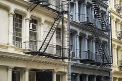 Historic buildings in New York City's Soho District Stock Photo