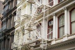 Historic buildings in New York City's Soho District Stock Image