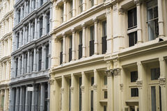 Historic buildings in New York City's Soho District Royalty Free Stock Image