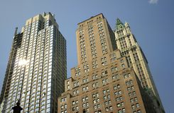 Historic Buildings In Nyc Royalty Free Stock Image