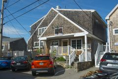 Historic buildings in Ogunquit, ME, USA Royalty Free Stock Photo