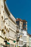 Historic buildings in the old town of Krems an der Donau, Austria. Historic buildings in the old town of Krems an der Donau, a UNESCO heritage site in Austria Royalty Free Stock Photography