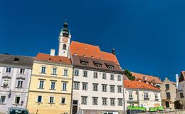 Historic buildings in the old town of Krems an der Donau, Austria. Historic buildings in the old town of Krems an der Donau, a UNESCO heritage site in Austria Royalty Free Stock Photos